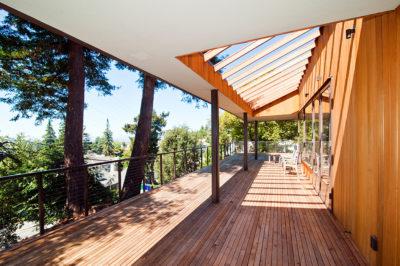 Deck and exterior wood siding maintenance